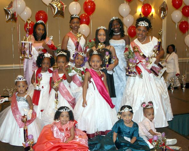 2008 Miss Charity Rose Winners