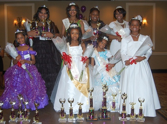 2011 Miss Charity Rose Winners